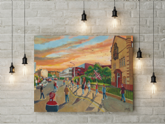 new tynecastle park gtm canvas a3 size